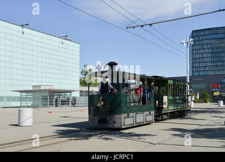 Bern Steam Tram -3 - Stock Image