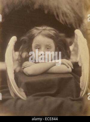 I Wait (Rachel Gurney); Julia Margaret Cameron, British, born India, 1815 - 1879; Freshwater, England, Europe; 1872; - Stock Image