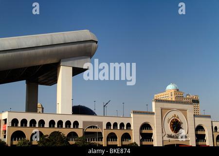 Facade of Mall of Emirates and Ski Dubai , shopping mall , Dubai, - Stock Image