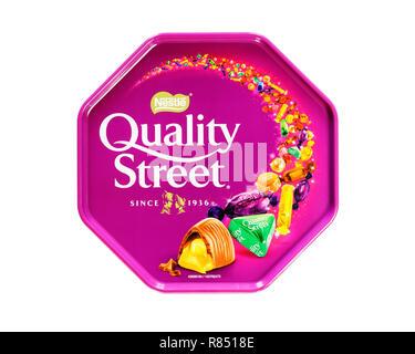 Quality Street - Stock Image