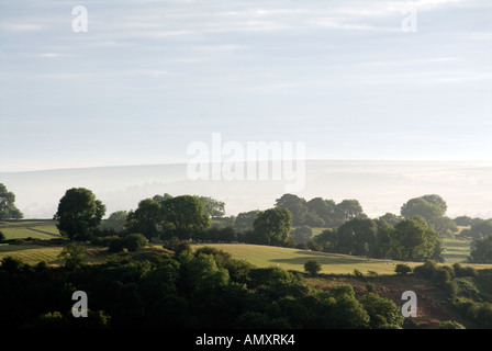 PICTURE CREDIT DOUG BLANE Morning view at Winster Peak District National Park Derbyshire - Stock Image