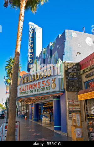Hollywood Guinness World of Records Museum Los Angeles, California, United States, CA unusual museum on Hollywood - Stock Image