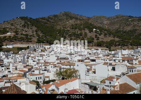 Mijas Pueblo. Málaga, Spain. - Stock Image