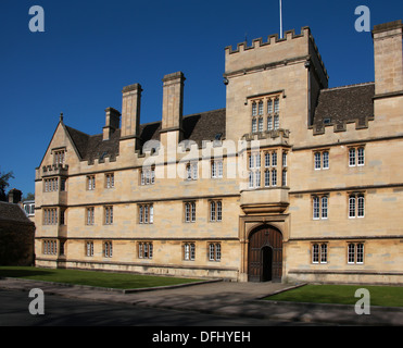 Wadham College, Oxford University, Oxford, Oxfordshire, UK - Stock Image