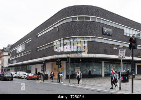 empty BHS store in Sauchiehall Street, Glasgow, Scotland, UK - Stock Image