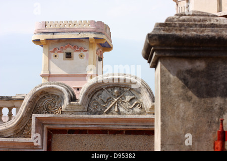 Deyue Tower, Kinmen National Park, Shuitou Village, Kinmen County, Taiwan - Stock Image