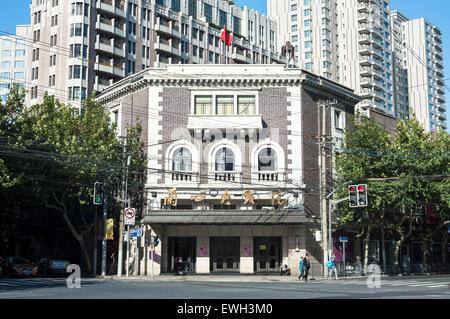 Lyceum Theatre, Jingan, Shanghai - Stock Image