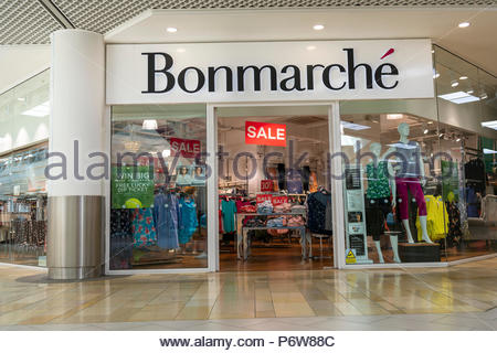 Bonmarche store in the UK. - Stock Image