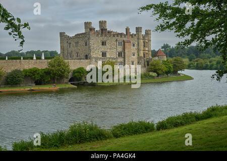 leeds castle kent - Stock Image