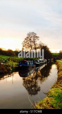 Reflections on the cut! - Stock Image
