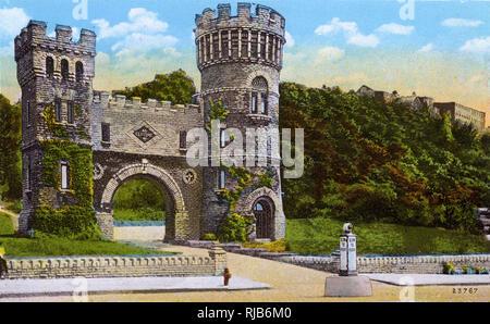 Cincinnati, Ohio, USA - Elsinore Tower, Eden Park. - Stock Image
