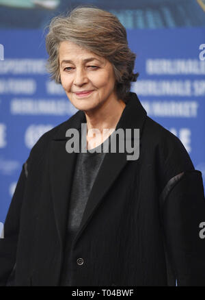 69th Berlin International Film Festival (Berlinale) - Charlotte Rampling - Photocall  Featuring: Charlotte Rampling Where: Berlin, Germany When: 14 Feb 2019 Credit: WENN.com - Stock Image