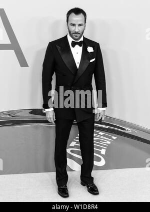 New York, NY - June 03, 2019: Tom Ford attends 2019 CFDA Fashion Awards at Brooklyn Museum - Stock Image