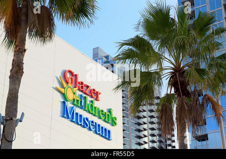 Glazer Children's Museum in Tampa, Florida. - Stock Image