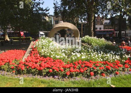 War Memorial Islington Green London - Stock Image
