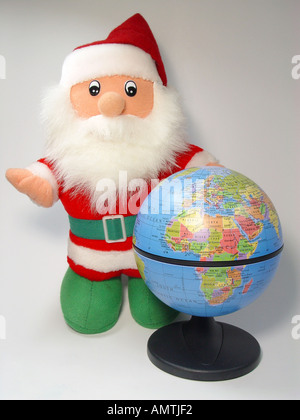 Christmas in the whole world - Stock Image