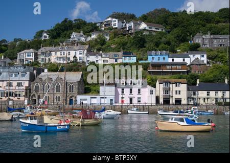 Looe, Fishing town, Cornwall, UK. - Stock Image