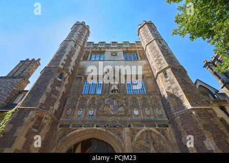 trinity college cambridge - Stock Image