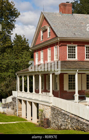 Rock Ford, a historic home in Lancaster County Central Park, Lancaster, Pennsylvania, USA - Stock Image