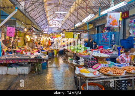 Chatchai Market, Hua Hin, Thailand - Stock Image