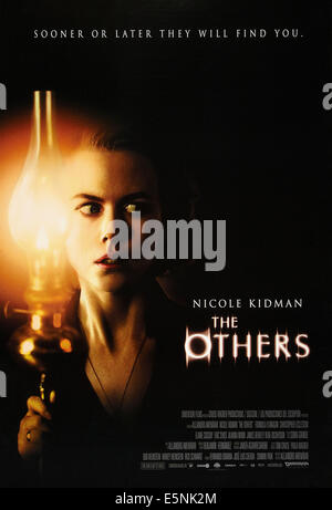 THE OTHERS, US poster, Nicole Kidman, 2001, © Dimension Films/courtesy Everett Collection - Stock Image
