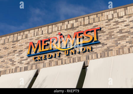 Meriwest Credit Union – Cupertino Financial Center; Cupertino, California, USA - Stock Image