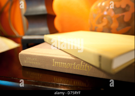 Books Home Décor Macro - Stock Image