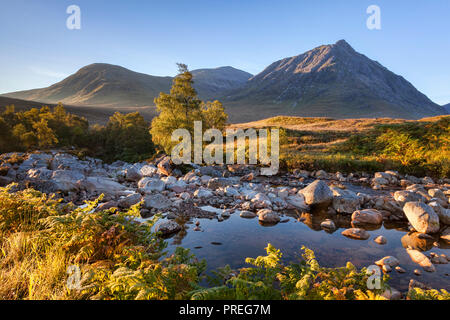 Autumn in Glencoe, Lochaber, Highland, Scotland, UK. - Stock Image