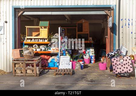 Ark Animal Feeds store, Sowerby Bridge, West Yorkshire - Stock Image