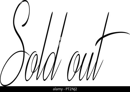 For sale text sign illustration on white background. - Stock Image