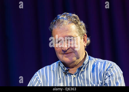 Walsall, West Midlands, UK. 22 March 2015. Clive Doig British television producer director BAFTA Award winner at - Stock Image