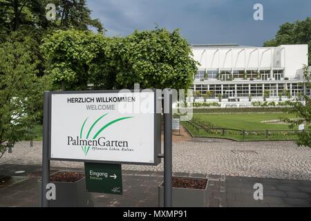 Palmengarten, a botanical garden located in Westend-Süd district, Frankfurt am Main, Hesse, Germany. - Stock Image