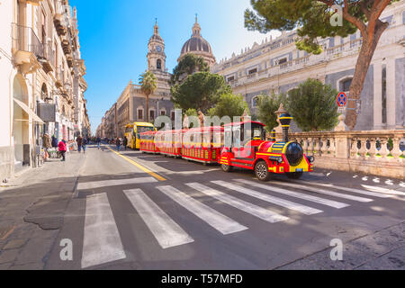 Catania Cathedral, Sicily, Italy - Stock Image