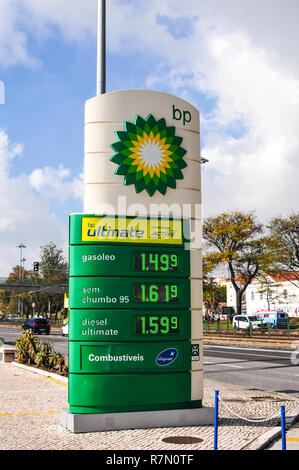 BP petrol and oil company - Stock Image