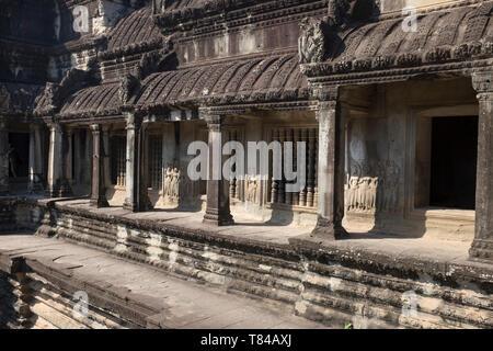 Angkor Wat Cambodia - Stock Image