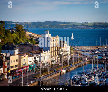 GB - DEVON: View of harbourfront at Torquay - Stock Image