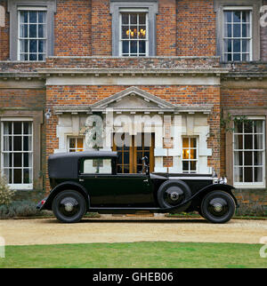 1929 Rolls Royce Phantom II Sedanca de Ville Country of origin United Kingdom - Stock Image