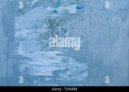 Old blue textures wall background. Perfect background with space. - Stock Image