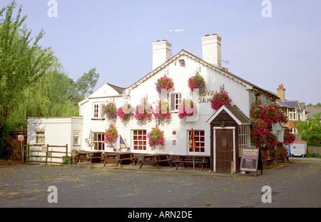 The Royal Oak Public House, Bushey, Hertfordshire, UK - Stock Image