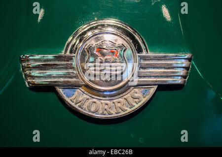 Morris Minor Logo - Stock Image