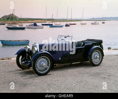 1936 Aston Martin International 1 5 litre Country of origin United Kingdom - Stock Image