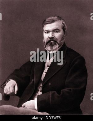 Adolph Braun, Photographer, ca 1860 - Stock Image