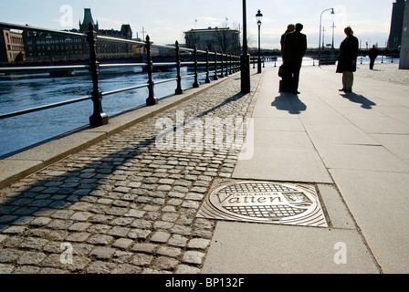 Stockholm city water - Stock Image
