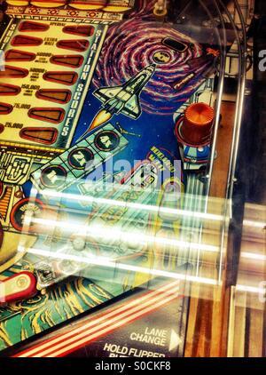 Pinball machine - Stock Image