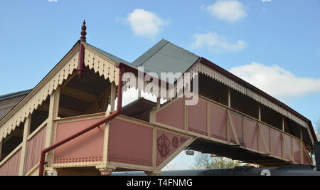 Ralway station in the Warwickshire town of Stratford upon Avon - Stock Image