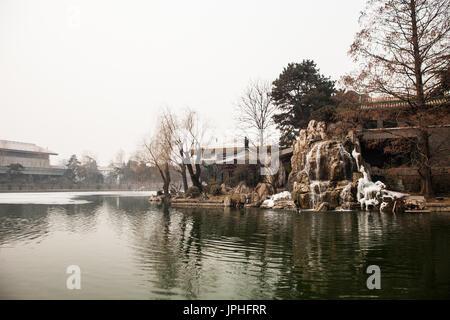 Zhong nan hai, Beijing, China - Stock Image