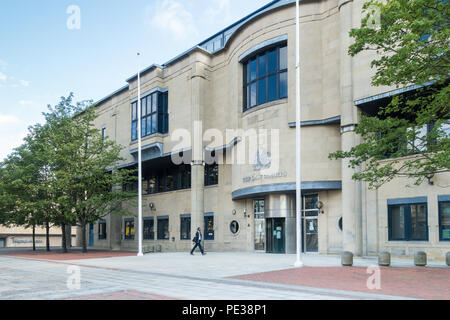 Bradford Law Courts, magistrates courts, crown court, West Yorkshire. - Stock Image