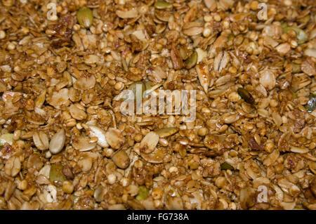 gluten free, granola,trail mix - Stock Image