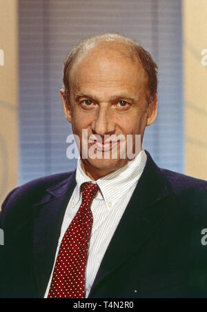 Luc Bondy, Schweizer Theater-, Film- und Fernsehregisseur, Deutschland 1996. Swiss theatre, movie and TV director Luc Bondy, Germany 1996. - Stock Image
