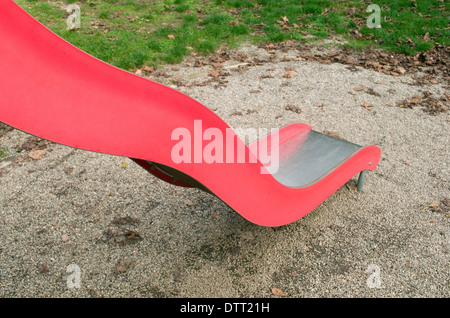 slide in playground - Stock Image